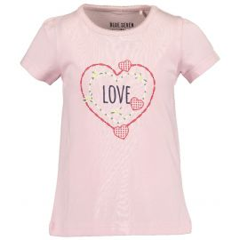 meisjes t-shirt rose love country
