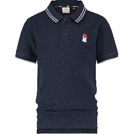 ES01KBN32001_B-Basic-Polo-SS-207_Midnight Blue_FRONT
