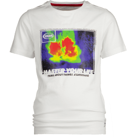 jongens t-shirt real white haces
