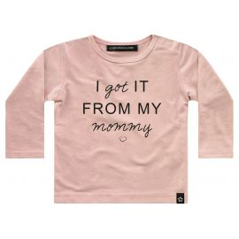 I GOT IT FROM MY MOMMY_LONGSLEEVE_PINK
