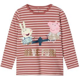 meisjes longsleeve withered rose Peppa Pig