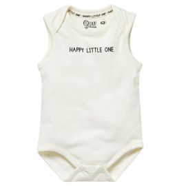 unisex romper off white