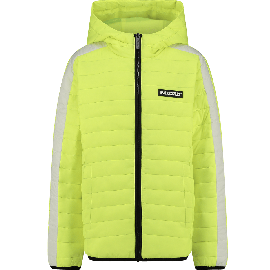 jongens jas fresh neon yellow Tatum