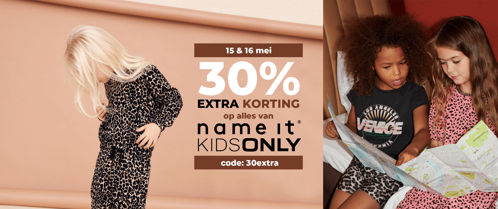 30% EXTRA KORTING OP NAME IT & ONLY